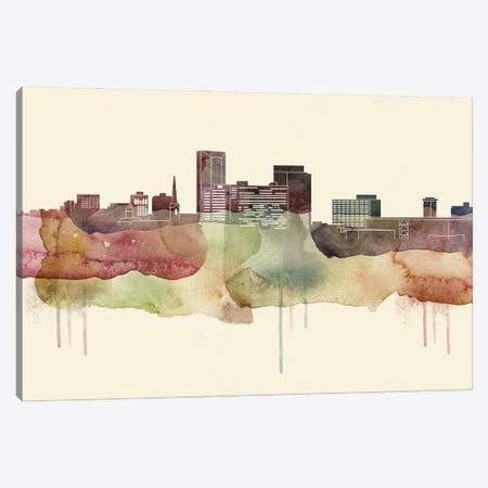 Lexington, Kentucky Desert Style Skyline Canvas Print #WDA1534} by WallDecorAddict Canvas Art Print