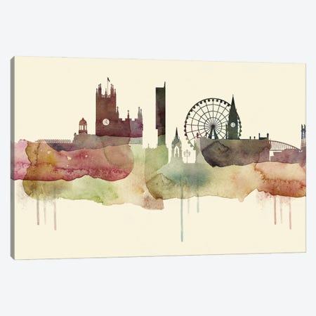 Manchester Desert Style Skyline Canvas Print #WDA1541} by WallDecorAddict Canvas Art Print