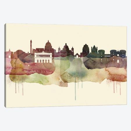 Naples Desert Style Skyline Canvas Print #WDA1551} by WallDecorAddict Canvas Art