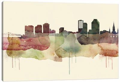 New Orleans Desert Style Skyline Canvas Art Print