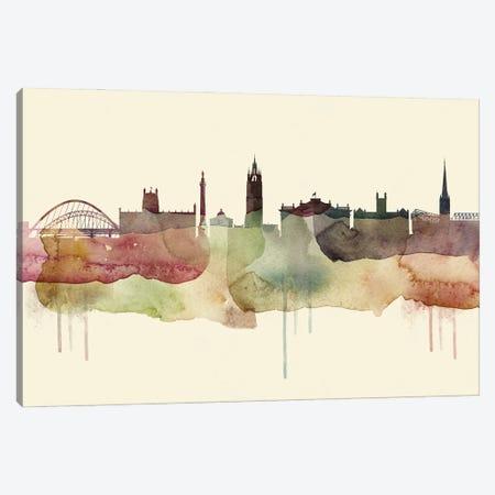 Newcastle Desert Style Skyline Canvas Print #WDA1555} by WallDecorAddict Canvas Print