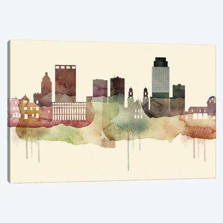 Omaha Desert Style Skyline Canvas Print #WDA1557} by WallDecorAddict Art Print