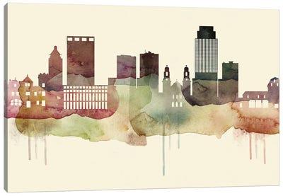 Omaha Desert Style Skyline Canvas Art Print