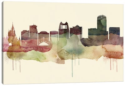 Orlando Desert Style Skyline Canvas Art Print