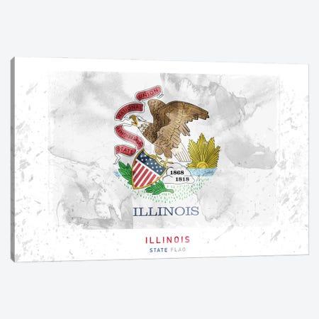 Illinois Canvas Print #WDA155} by WallDecorAddict Canvas Artwork