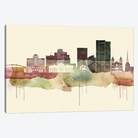 Phoenix Desert Style Skyline Canvas Print #WDA1561} by WallDecorAddict Canvas Print