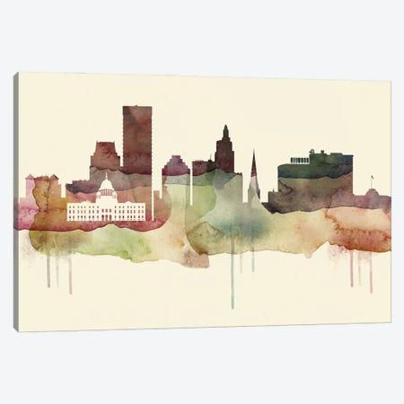 Providence Desert Style Skyline Canvas Print #WDA1565} by WallDecorAddict Canvas Art