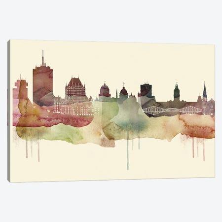 Quebec Desert Style Skyline Canvas Print #WDA1566} by WallDecorAddict Canvas Art