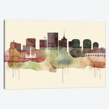 Richmond Desert Style Skyline Canvas Print #WDA1568} by WallDecorAddict Art Print