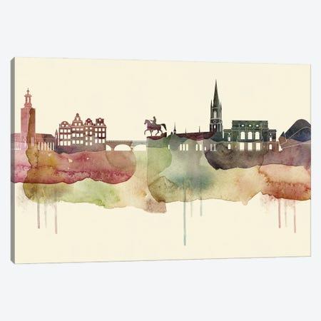 Stockholm Desert Style Skyline Canvas Print #WDA1578} by WallDecorAddict Canvas Art