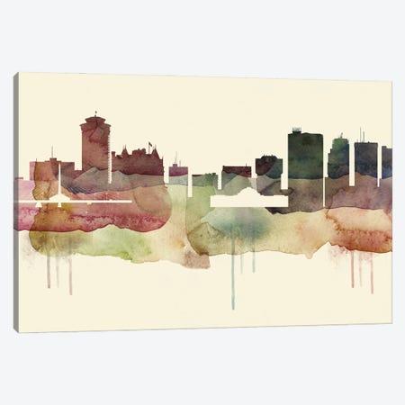 Winnipeg Desert Style Skyline Canvas Print #WDA1587} by WallDecorAddict Canvas Wall Art