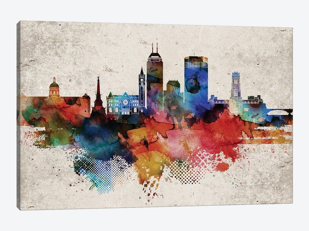 Indianapollis Abstract by WallDecorAddict 1-piece Art Print