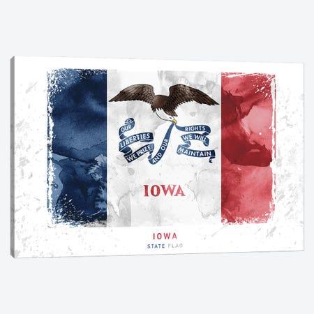 Iowa Canvas Print #WDA169} by WallDecorAddict Canvas Art