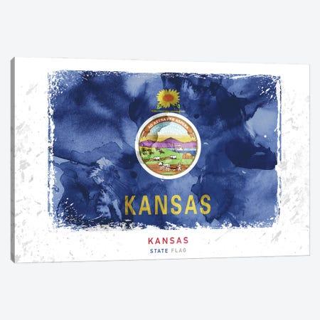 Kansas Canvas Print #WDA182} by WallDecorAddict Canvas Artwork