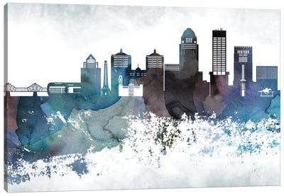 Louisville Bluish Skylines Canvas Art Print