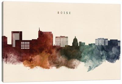 Boise Skyline Desert Style Canvas Art Print