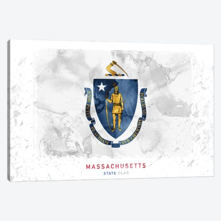 Massachusetts Canvas Print #WDA239} by WallDecorAddict Canvas Wall Art