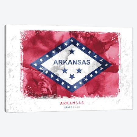 Arkansas Canvas Print #WDA23} by WallDecorAddict Canvas Print