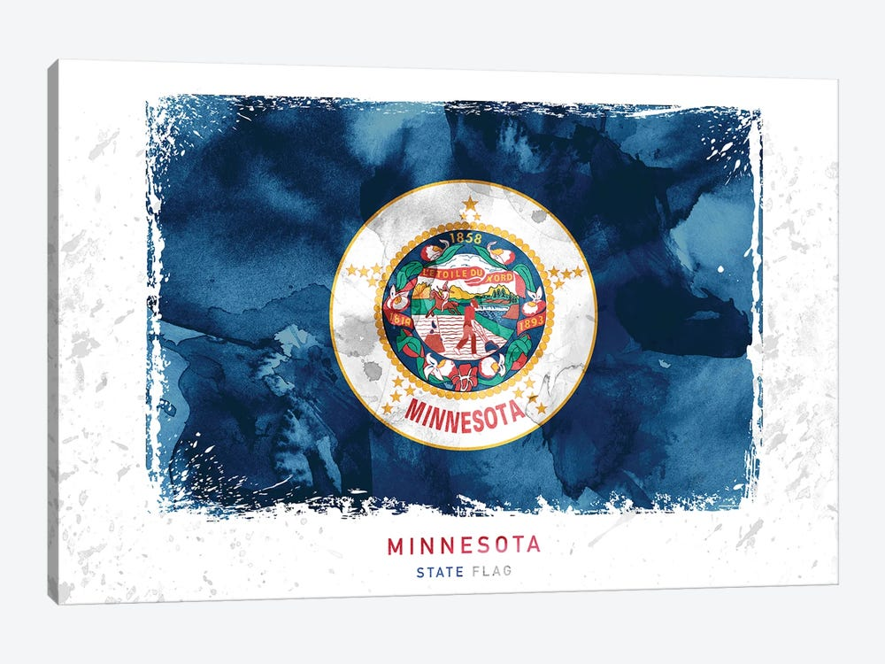 Minnesota by WallDecorAddict 1-piece Canvas Print
