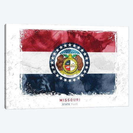 Missouri Canvas Print #WDA279} by WallDecorAddict Canvas Wall Art