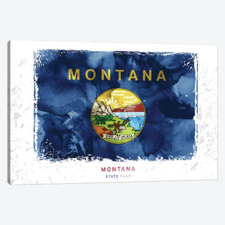 Montana Canvas Print #WDA284} by WallDecorAddict Canvas Art
