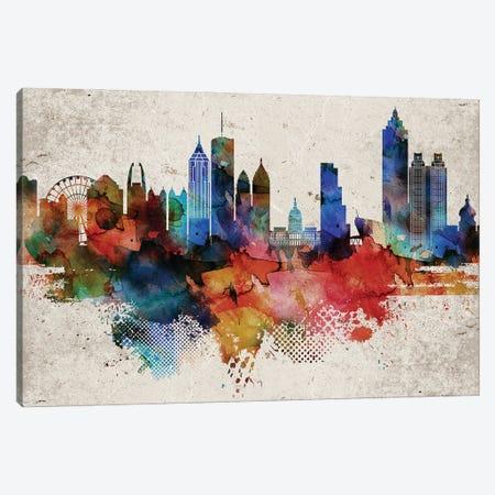 Atlanta Abstract Canvas Print #WDA28} by WallDecorAddict Canvas Print