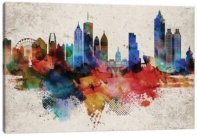 Atlanta Abstract Canvas Art Print