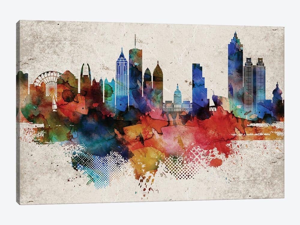 Atlanta Abstract by WallDecorAddict 1-piece Canvas Print