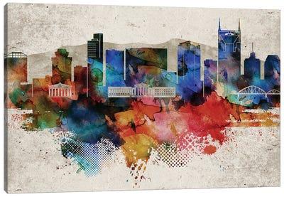 Nashville Abstract Canvas Art Print