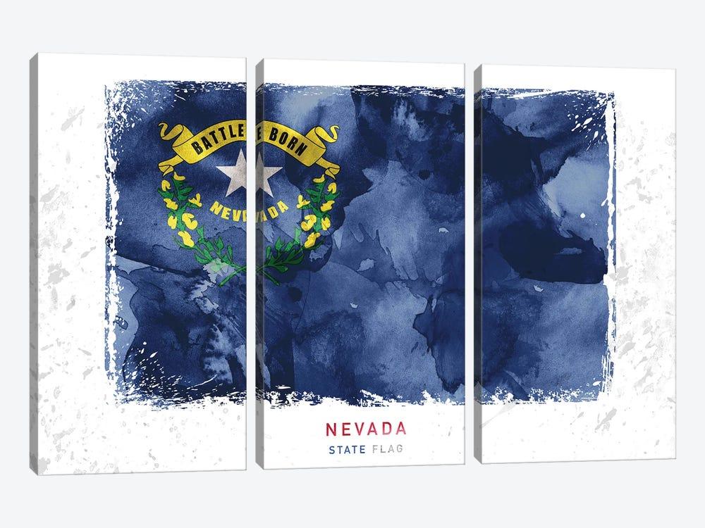 Nevada by WallDecorAddict 3-piece Canvas Print