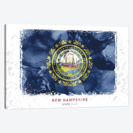 New Hampshire 3-Piece Canvas #WDA305} by WallDecorAddict Canvas Print