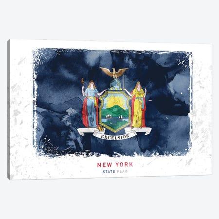 New York Canvas Print #WDA324} by WallDecorAddict Canvas Art Print