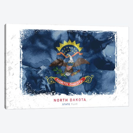 North Dakota Canvas Print #WDA343} by WallDecorAddict Canvas Artwork