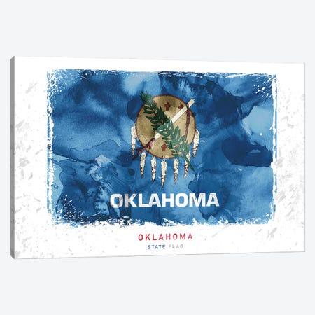Oklahoma Canvas Print #WDA354} by WallDecorAddict Canvas Art