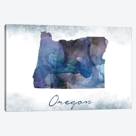 Oregon State Bluish 3-Piece Canvas #WDA365} by WallDecorAddict Canvas Art Print