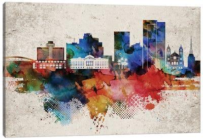 Phoenix Abstract Canvas Art Print