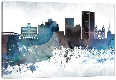 Phoenix Bluish Skylines Canvas Art Print