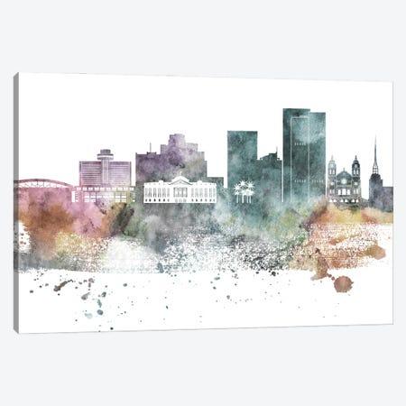 Phoenix Pastel Skylines Canvas Print #WDA393} by WallDecorAddict Canvas Print