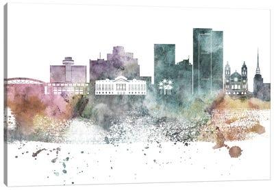 Phoenix Pastel Skylines Canvas Art Print