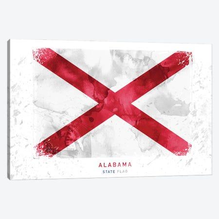 Alabama Canvas Print #WDA3} by WallDecorAddict Canvas Art