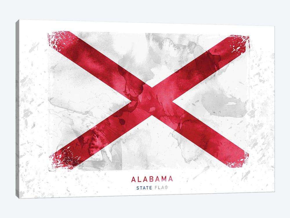 Alabama by WallDecorAddict 1-piece Canvas Wall Art