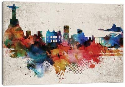 Rio Abstract Canvas Art Print