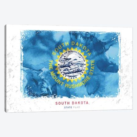 South Dakota 3-Piece Canvas #WDA454} by WallDecorAddict Canvas Print