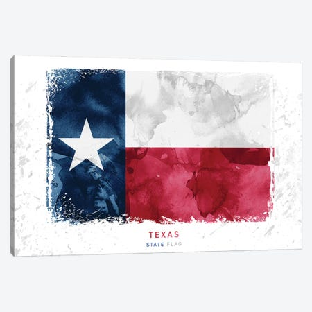 Texas Canvas Print #WDA470} by WallDecorAddict Canvas Art
