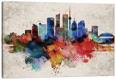 Toronto Abstract Canvas Art Print