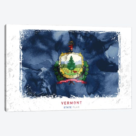 Vermont 3-Piece Canvas #WDA489} by WallDecorAddict Canvas Art Print