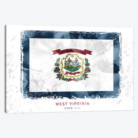 West Virginia Canvas Print #WDA513} by WallDecorAddict Art Print