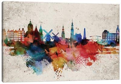 Amsterdam Abstract Canvas Art Print