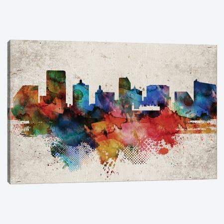 Atlantic City Abstract Canvas Print #WDA538} by WallDecorAddict Canvas Print