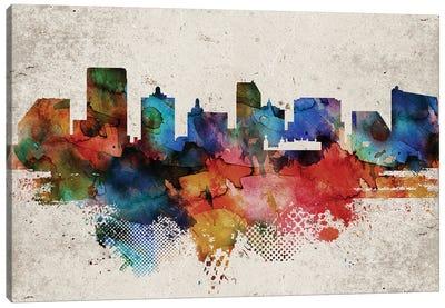 Atlantic City Abstract Canvas Art Print